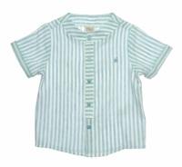 Paz Rodriguez. Коллекция CALA - Рубашка из Льна в полоску Арт.006-85374