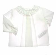 Paz Rodriguez. Коллекция NACAR - Блузка с кружевом и складками Арт.006-85025