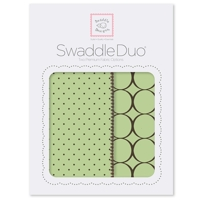Swaddle Designs - Детские пеленки Duo Lime Modern Арт.SD-180LM