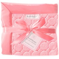 Swaddle Designs. Плед Stroller Blanket Puff Circles Pink Ар.SD-168P