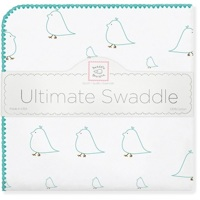 Swaddle Designs. Пеленка Chickies Sea Crystal фланель Арт.SD-162SC