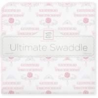 Swaddle Designs. Пеленка Little Princess Pstl Pink фланель Арт.SD-414PP
