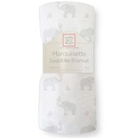 Swaddle Designs. Пеленка тонкая Elephant-Chickies Pink Marquisette Арт.SD-458PP