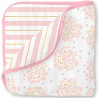 Swaddle Designs Одеяло муслиновое Luxe Muslin Heavenly Floral Pink Арт.SDM-352P